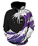 Azuki Athletic Sweatshirts Relaxed Hipster Gym Pullover Hoodies M