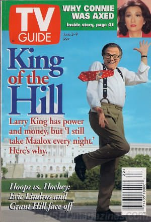 tv-guide-june-3-9-1995-king-of-the-hill-larry-king-has-power-and-money-but-still-takes-maalox-every-
