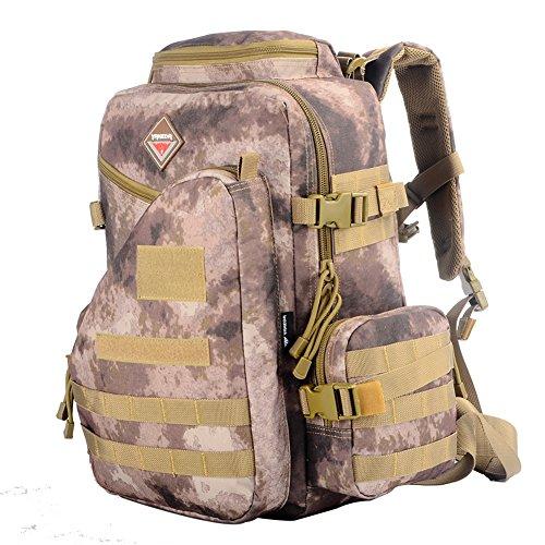 YAKEDA® Students 'Rucksack, Schultasche, Laptop Rucksack militärischen taktischen Computerrucksack, Wandersack - BK-501