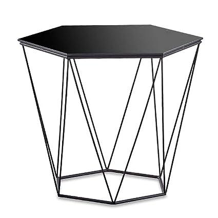 Glass Hexagon Coffee Table 3