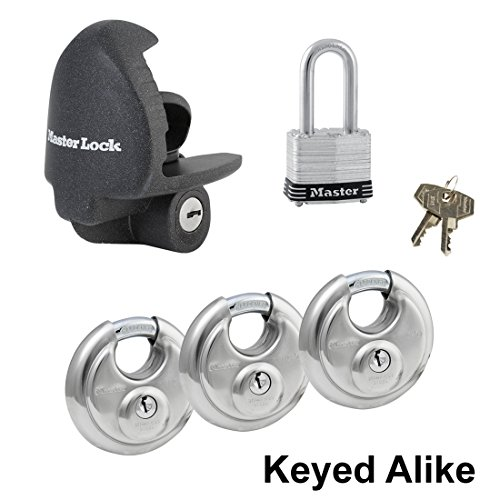 Master Lock - 5 Trailer Locks Keyed Alike #5KA-37940-3