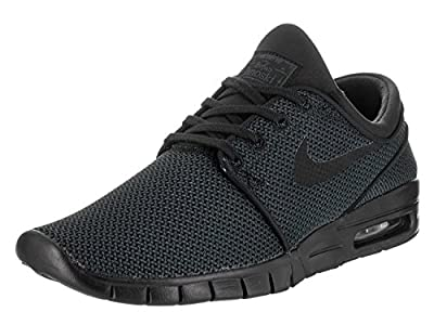 Nike Men's Stefan Janoski Max Black/BlackSneakers - 4.5 D(M) US