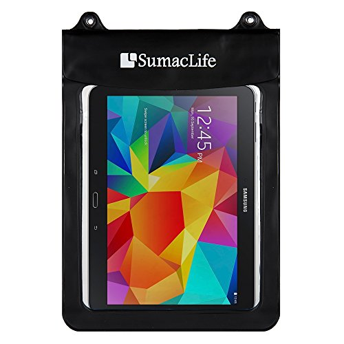 Transparent Tablet Waterproof Pouch Clear Dry Bag for Alcatel One Touch / Amazon Fire 7 / Fire HD 8 / Fire 10