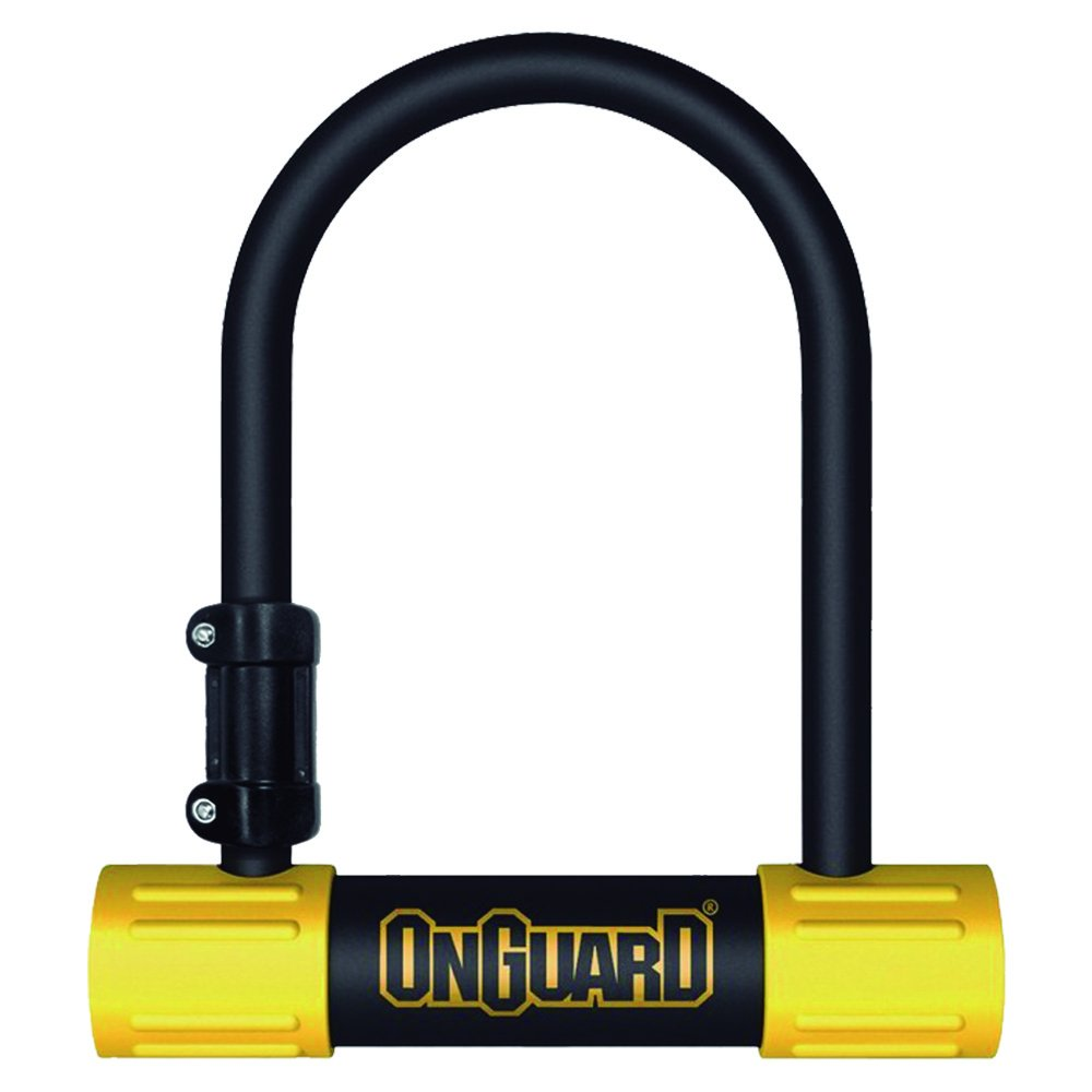ONGUARD Bulldog Mini U-Lock (Black, 3.55 x 5.52-Inch) by ONGUARD