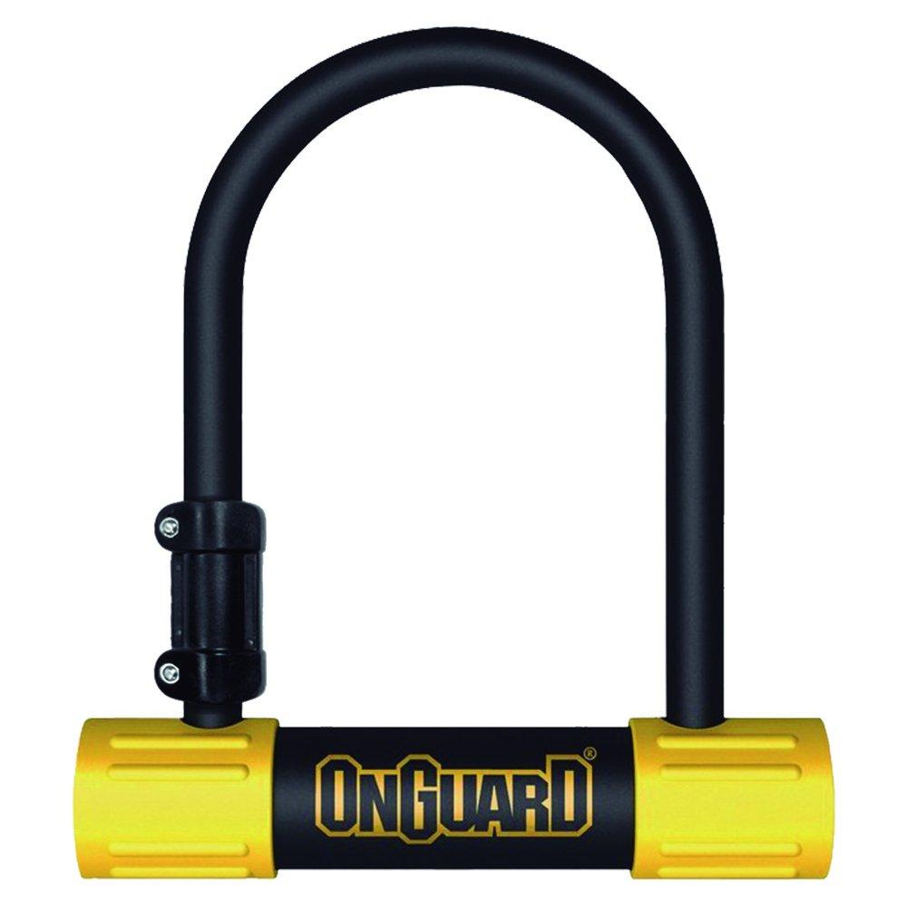 ONGUARD Bulldog Mini U-Lock (Black, 3.55 x 5.52-Inch)