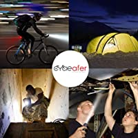 Cycleafer® USB Rechargeable Bike Light Set Super POWERFUL Lumens Bicycle Water