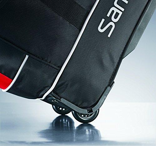 Samsonite Luggage Andante Wheeled Duffel 22, Black/Red
