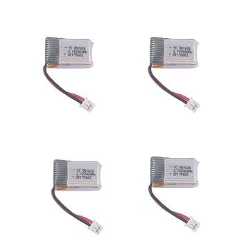 YouCute 4PCS 240mAh batería de actualización para Poke FPV Eachine ...