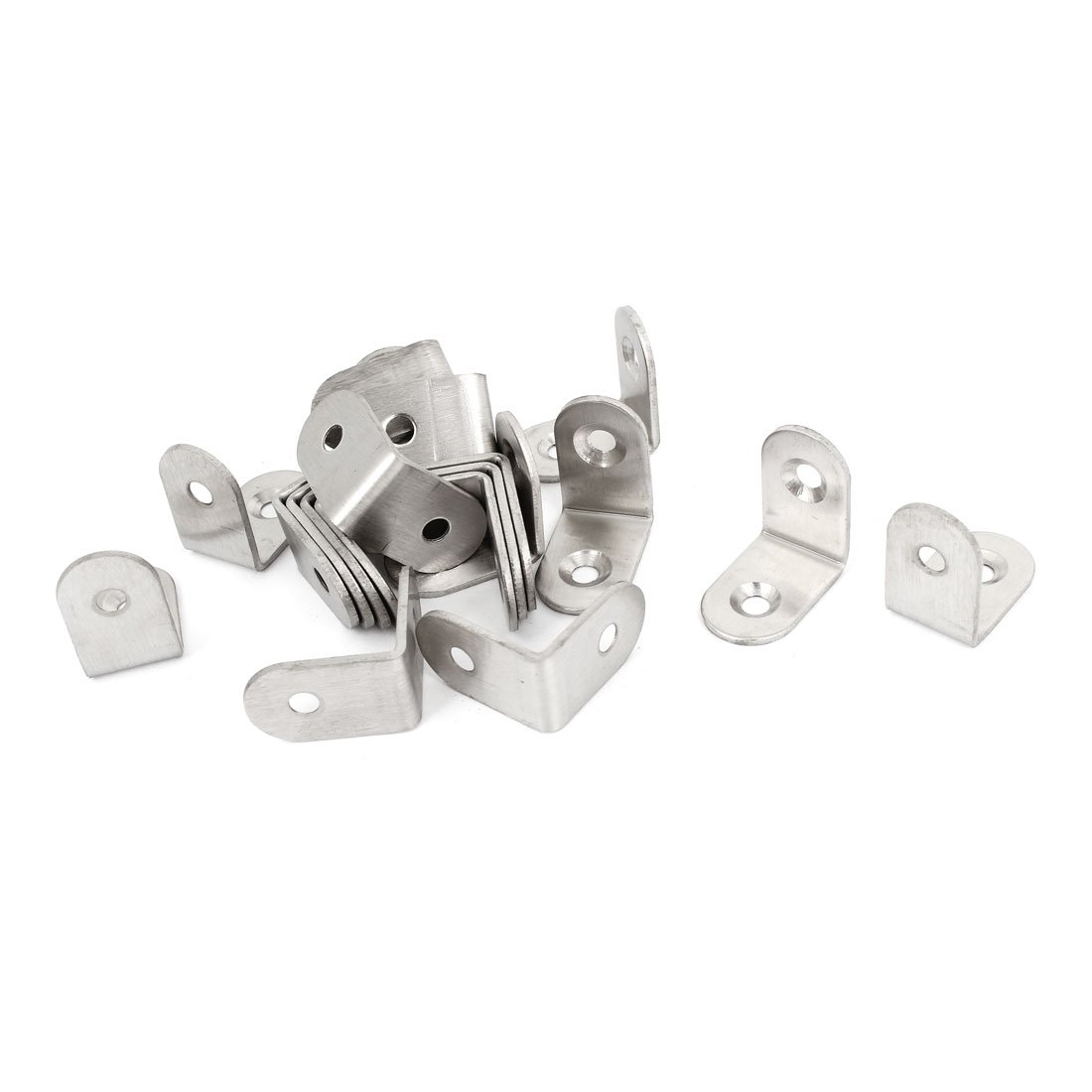 uxcell 20 Pcs 25mmx25mm Support Corner Brace Joint Right Angle Bracket by uxcell