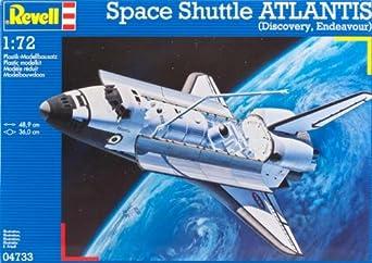 """Amazon.com: Revell of Germany Space Shuttle """"Atlantis"""" Plastic Model Kit: Toys & Games"""