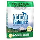 Dick Van Patten's Natural Balance 42830 Vegetarian, Large, Green