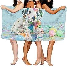 "Dalmatian Bath Bathroom Shower Towels Bath Towel Wrap, 31.5"" X 51.2"" Mini Multi-purpose, Ideal For Home And Travel Use"