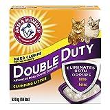 ARM & HAMMER Double Duty Cat Litter, Advanced Dual Odour Control, 6.4-kg