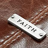 "Classic Bible / Book Cover w/ ""Faith"" Badge"