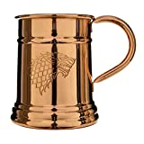 Official Game of Thrones Collectible Copper Moscow Mule Drinking Mug Beer Steins (Stark)