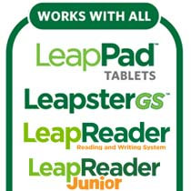 LeapFrog headphones work with all of your LeapFrog mobile learning devices.
