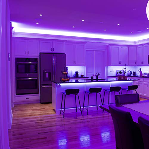 LED Streifen,Azhien 5m RGB LED Strip Lichterkette mit Fernbedienung,LED Stripes Lichtband Selbstklebend mit 16 Farbwechsel,4 Modi für Zuhause,Schlafzimmer,TV,Schrankdeko, Party,SMD 5050 LED Bänder