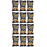 Delicious Treats Barcel Takis Fuego Corn Snack - Hot Chili Pepper & Lime 12 Bags of 9.88 Oz - Tj18 by Barcel