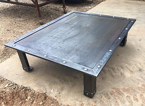 Amazon Com Custom Steel Coffee Table Industrial Handmade