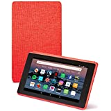 Amazon Fire HD 8 Tablet Case (Compatible with 7th and 8th Generation Tablets, 2017 and 2018 Releases), Punch Red