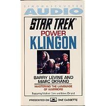 Star Trek Power Klingon Audio Book (Cassette)
