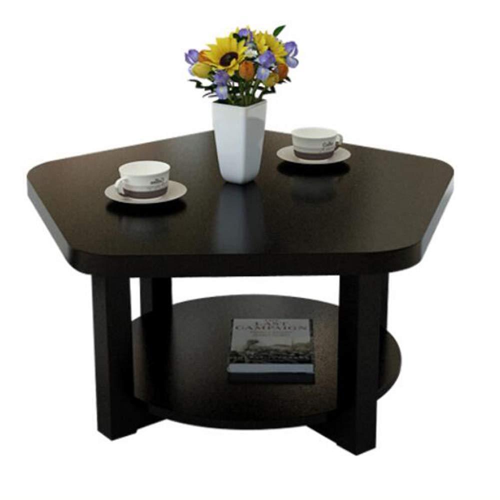 White maple YNN Creative Small Coffee Table Simple Living Room Small Table Mini Simple Economic (color   White Maple)