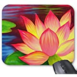 Zazzle Chinese Lotus Water Lily Flower Art - Multi Mouse Pad
