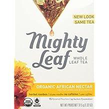 Mighty Leaf Tea Organic African Nectar, 15 tea bags