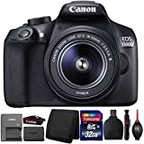 Canon EOS 1300D/T6 DSLR camera with 18-55mm Lens and Accessory Kit