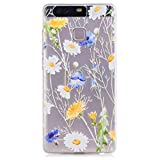 Samsung Galaxy S7 Edge Case, KSHOP Premium Accessory Ultra Thin Transparent Clear Soft Gel TPU Silicone Case Cover Bumper Shellfor Samsung Galaxy S7 Edge-Chrysanthemums