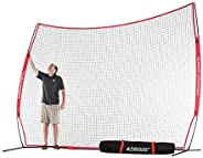Rukket Barricade Backstop Net   Indoor and Outdoor Lacrosse, Basketball, Soccer, Field Hockey, Baseball, Softb
