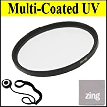 52mm Multi-Coated UV Protective Filter For Canon EF-S 60mm f/2.8 Macro USM Digital SLR Lens + Cap Keeper + MicroFiber Cleaning Cloth