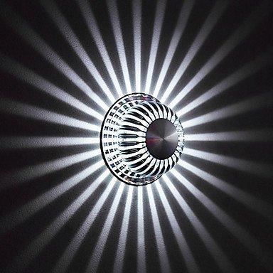 AC 100-240 led incendio moderno in alluminio per il montaggio ad incasso a parete luce luci a LED da parete deate integrato, 90-240 V