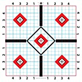 100yd rifle target - Wallace Brook 100 Yard 2 sided Rifle Target-Great for Sighting in Scope-11.5 inch-100 sheets