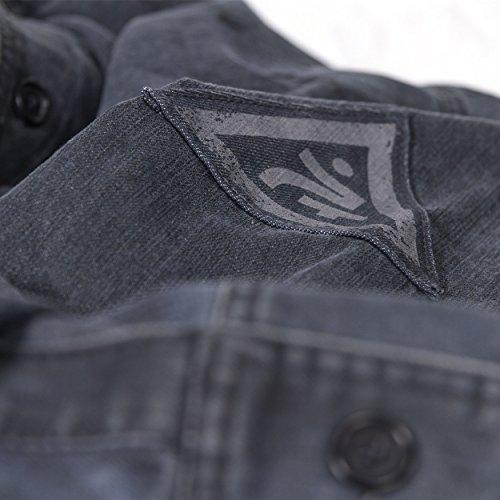Musterbrand Half-Life Jacke Herren City 17 Denim Gaming Bekleidung Blau