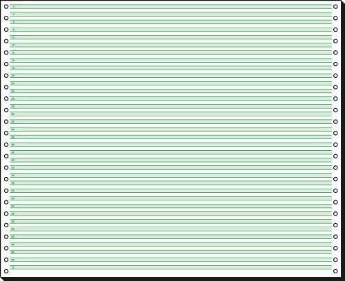 SIGEL 12371 Endlospapier 12 Zoll x 375 mm (A3 quer), 60 g, 2000 Blatt 1fach, mit Leselinien