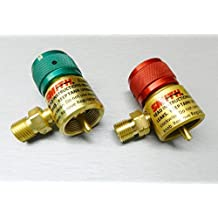 Smith Regulators Oxygen 249-499B and Smith 249-500 Gas for Disposable Cylinders