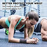 NEWZILL Wrist Wallet (Wristband) with Zipper - for