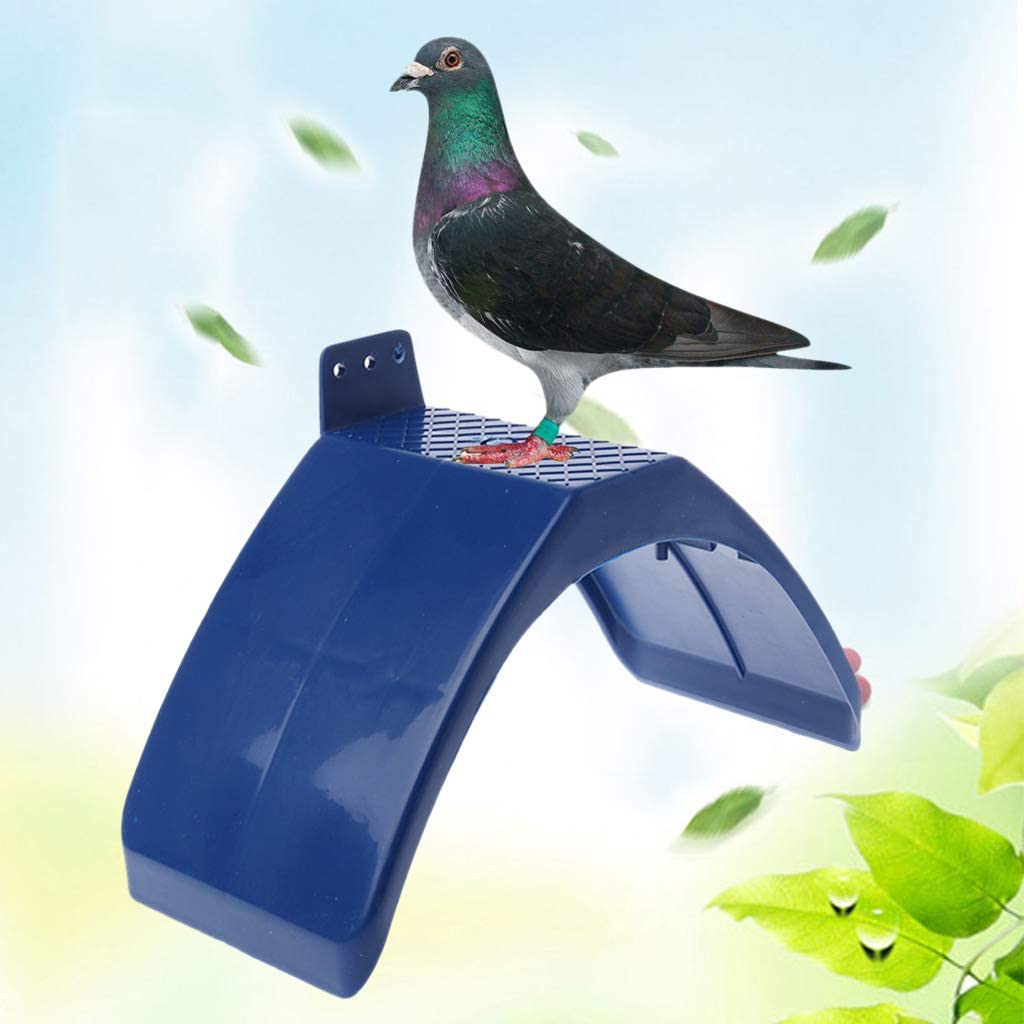 fuwahahah 20 PCS Dove Rest Stand Blue Frame Pigeon Perches Roost Dwelling Supplies Birds