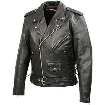 d39ec1e64d84 Amazon.com  MILWAUKEE LEATHER Men s Classic Side Lace Police Style ...
