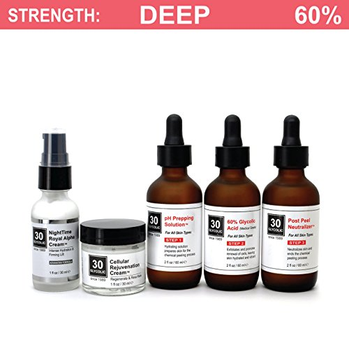 60 Glycolic Peel System For Acne Scar Skin Discoloration Free 65 Skin Repair Creams Included Buy Online In Dominica At Dominica Desertcart Com Productid 62566383