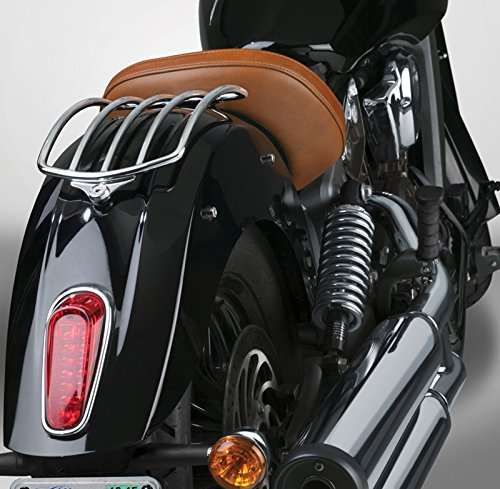 National Cycle Paladin Fender-Mount Solo Luggage Rack for Indian (Paladin Luggage Rack)