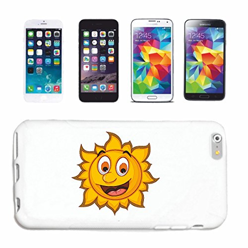 "cas de téléphone Samsung Galaxy S6 ""RIRE SMILEY SUN AS ""sourire EMOTICON APP de SMILEYS SMILIES ANDROID IPHONE EMOTICONS IOS"" Hard Case Cover Téléphone Covers Smart Cover pour Samsung Galaxy S6 en bla"