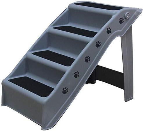 ZSCWMB 4 capas para mascotas escalera de plástico plegable para mascotas escalera para perros pequeños y medianos escaleras arriba escaleras pequeñas para perros escalera plegable para perros escalera: Amazon.es: Hogar