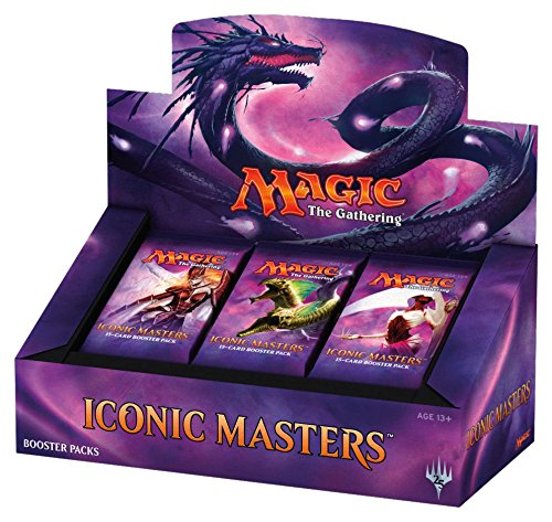 Magic the Gathering Iconic Masters Factory Sealed Booster Box MTG Card Game - 24 packs from Magic The Gathering