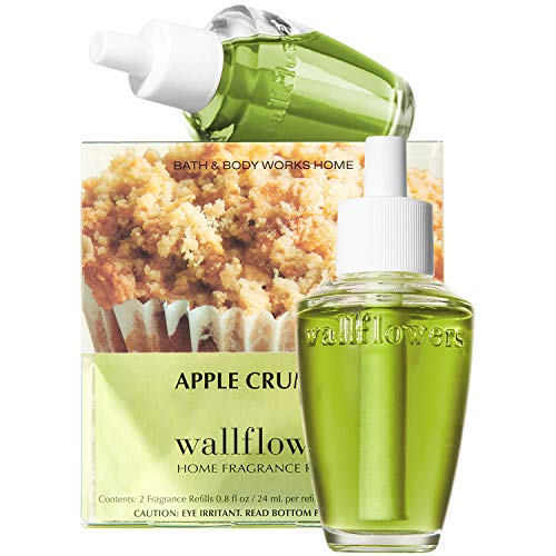 Bath and Body Works New Look! Apple Crumble Wallflowers 2-Pack Refills -