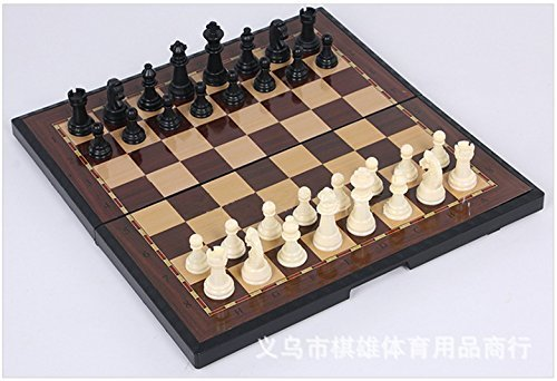 YY Goods Magnetic Travel chess set With folding chess board ,Portable Classic, Educational toys for Kids and adults by YY Goods