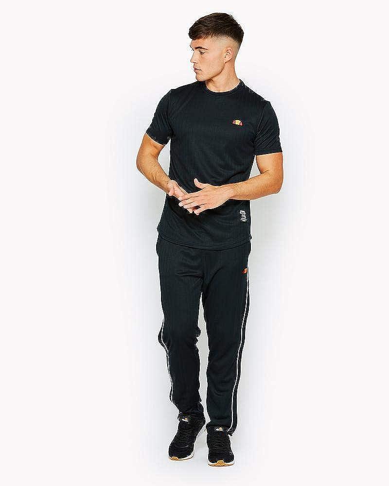 ellesse Cabries Black Polyester T-Shirt S Black