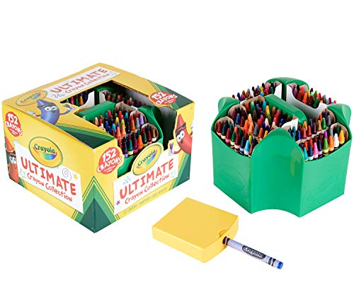 Crayola Ultimate Crayon Collection Coloring Set, Gift Age 3+ - 152 Count (Marker 64 Crayola Set)
