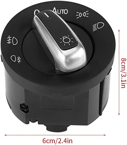 Lichtschalter Steuer Und Sensormodul Für Autoscheinwerferschalter 5nd941431b 5nd941431bxsh Für Mk5 Mk6 Caddy Kaninchen B6 3c Auto
